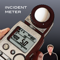 Incident metering without an incident meter – introducing PocketChris Incident Light Meter