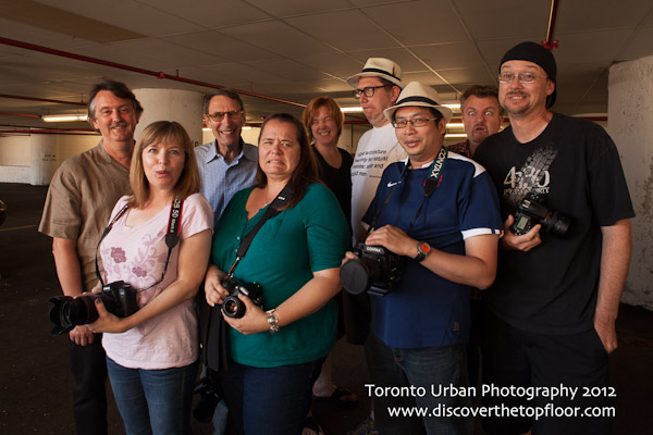 Toronto Urban Photography 2012 Group Shot