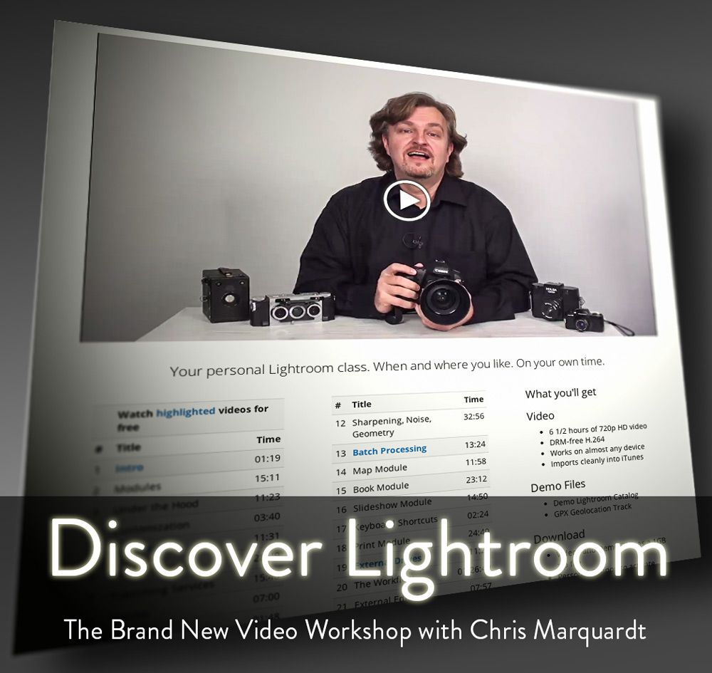 Discover Lightroom - Video Workshop with Chris Marquardt