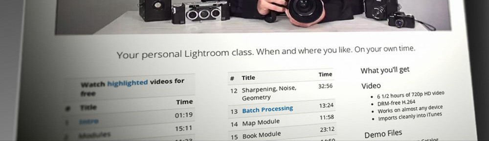 It's here! Discover Lightroom – Video Workshop with Chris