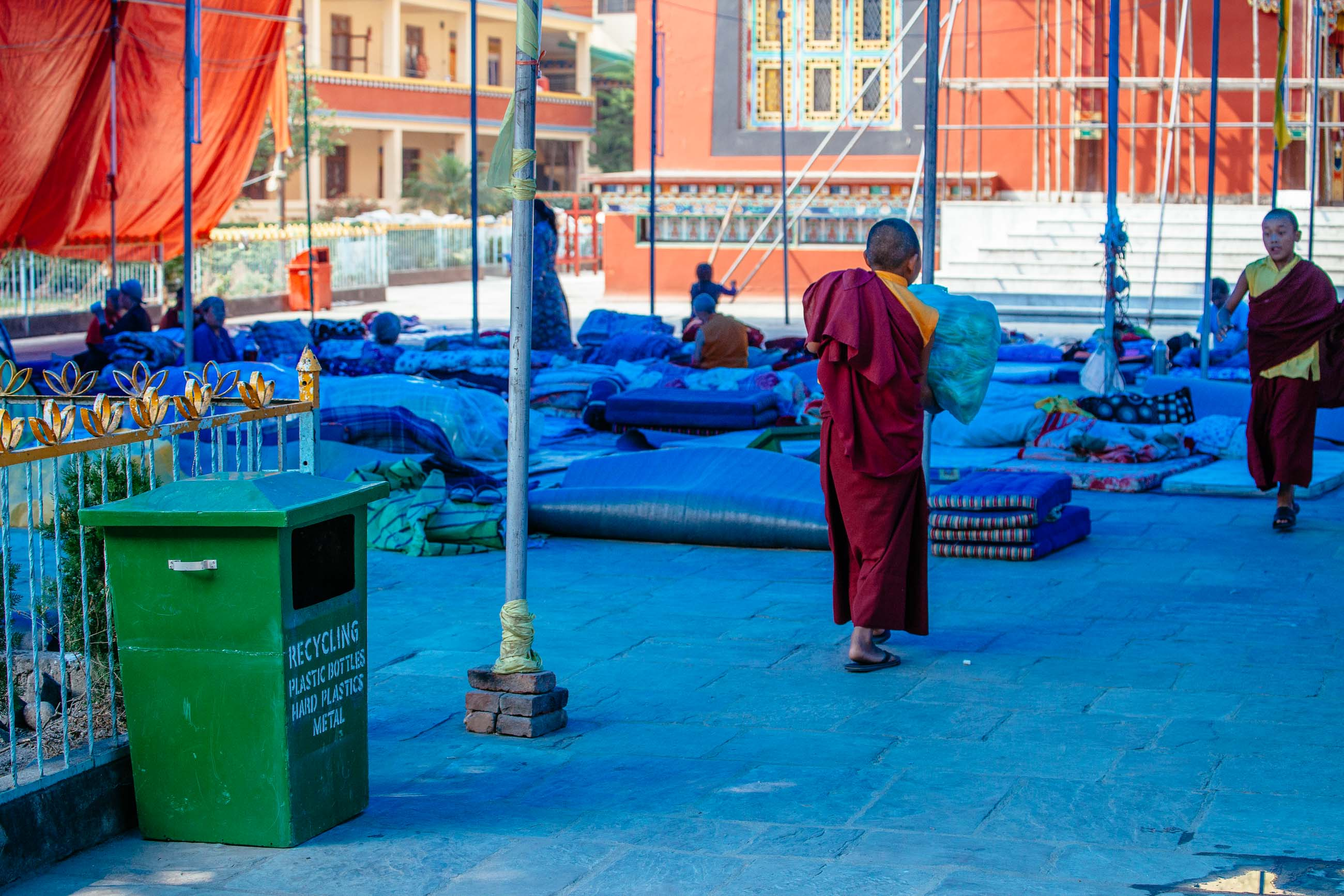 Monastery Shelter, Kathmandu, Nepal Jun 2015