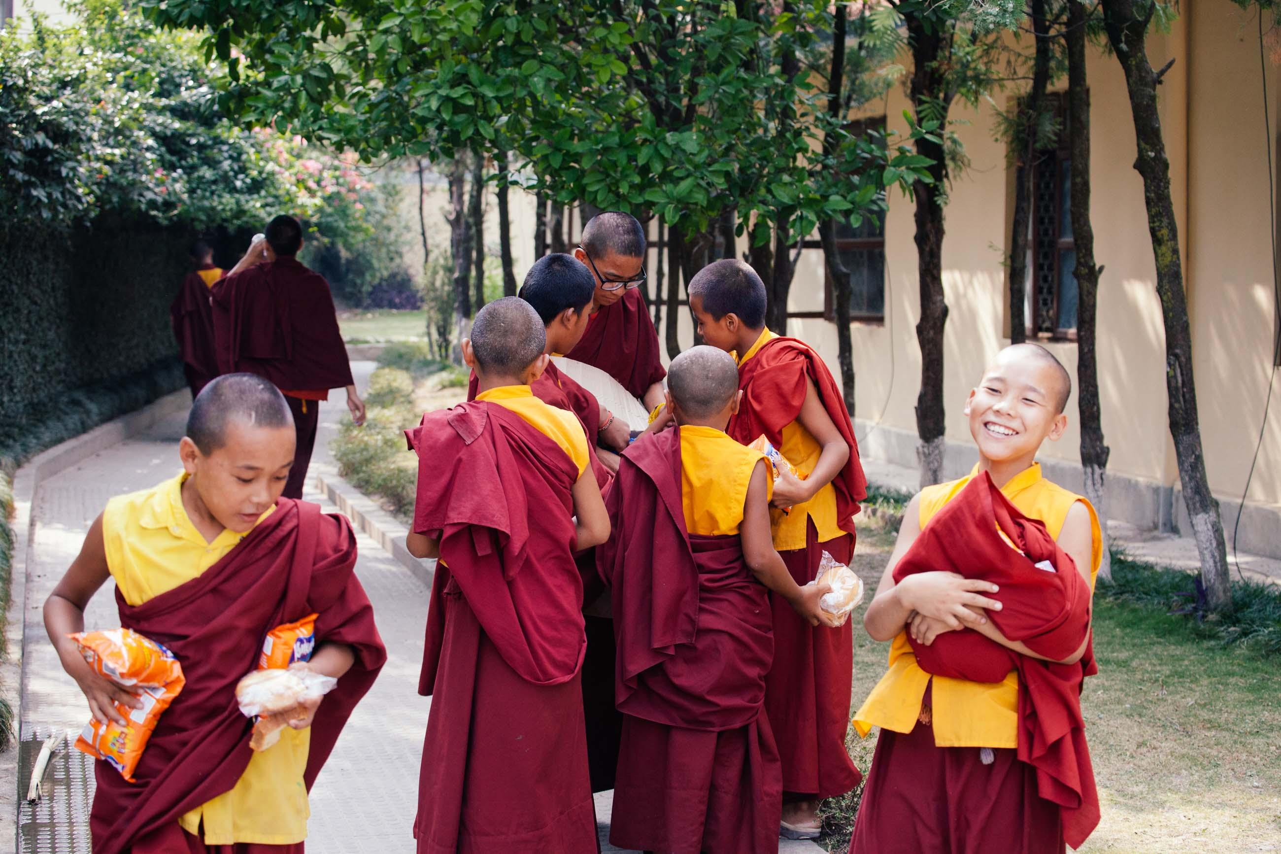 Kathmandu Monks, Nepal Jun 2015