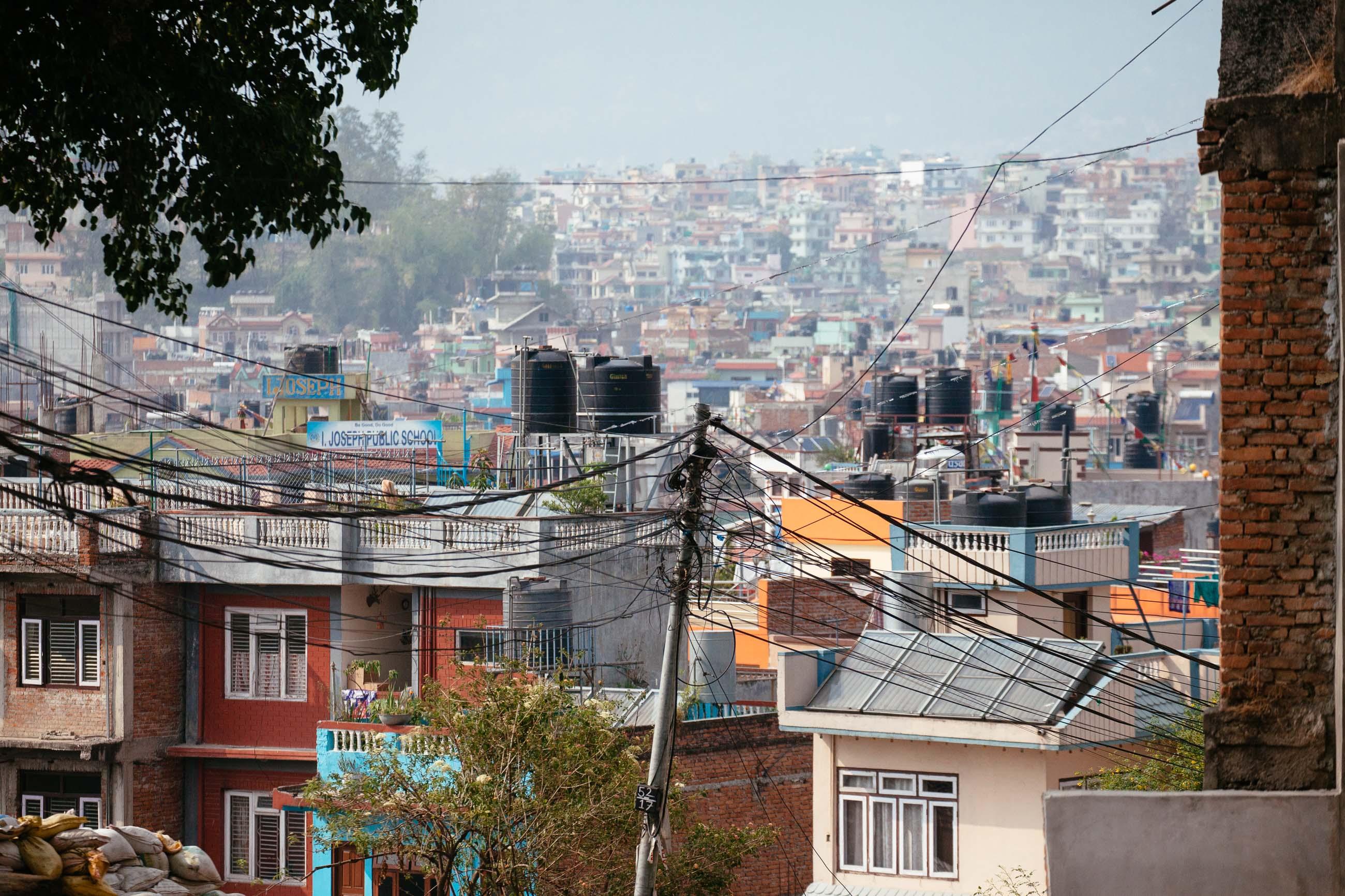 Kathmandu City, Nepal Jun 2015