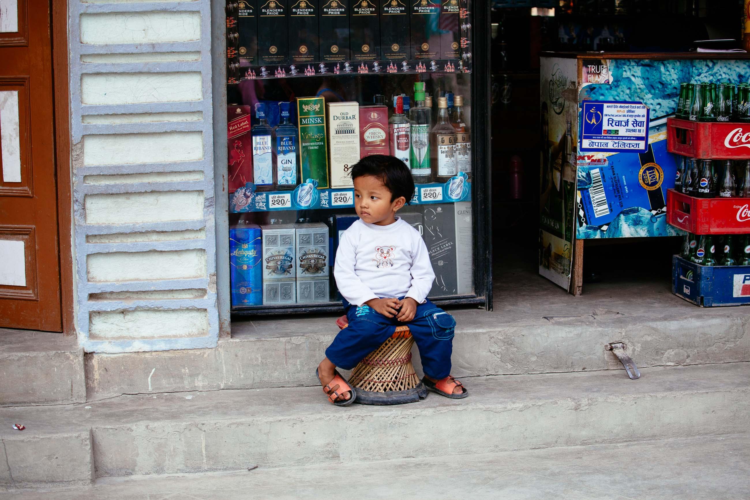 Kathmandu Whiskey Kid, Nepal Jun 2015