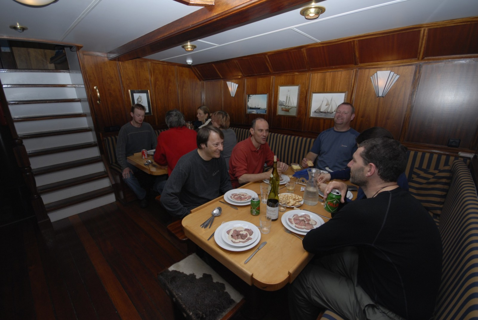 Meals on board