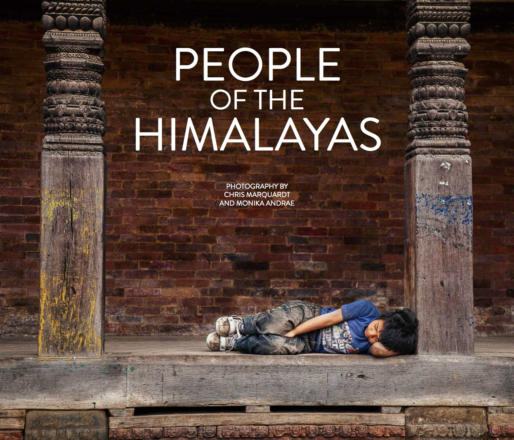 People of the Himalayas - ebook fundraiser